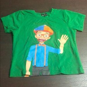 — BLIPPI — Size 3T Short Sleeve T-Shirt